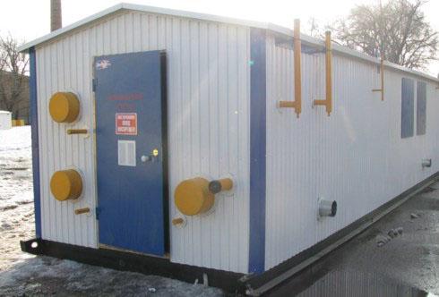 Газорегуляторные пункты блочные (ГРПБ) на базе импортных регуляторов