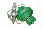 Регулятор давления газа прямоточный с теплогенератором РДУ-Т, РДУ-Т-100/50, РДУ-Т-100/80, РДУ-Т-100/100, РДУ-Т-64/100